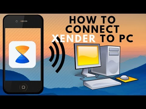 How To Connect Xender With Pc Wireless