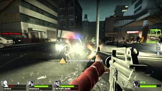 Left 4 Dead 2 Multiplayer Playthrough / Gameplay Part 9 No Mercy Zoey  Full HD 1080