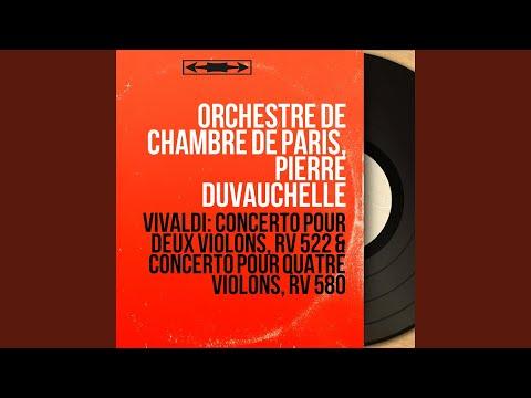 Concerto For Four Violins In B Minor, Op. 3 No. 10, RV 580: IV. Allegro