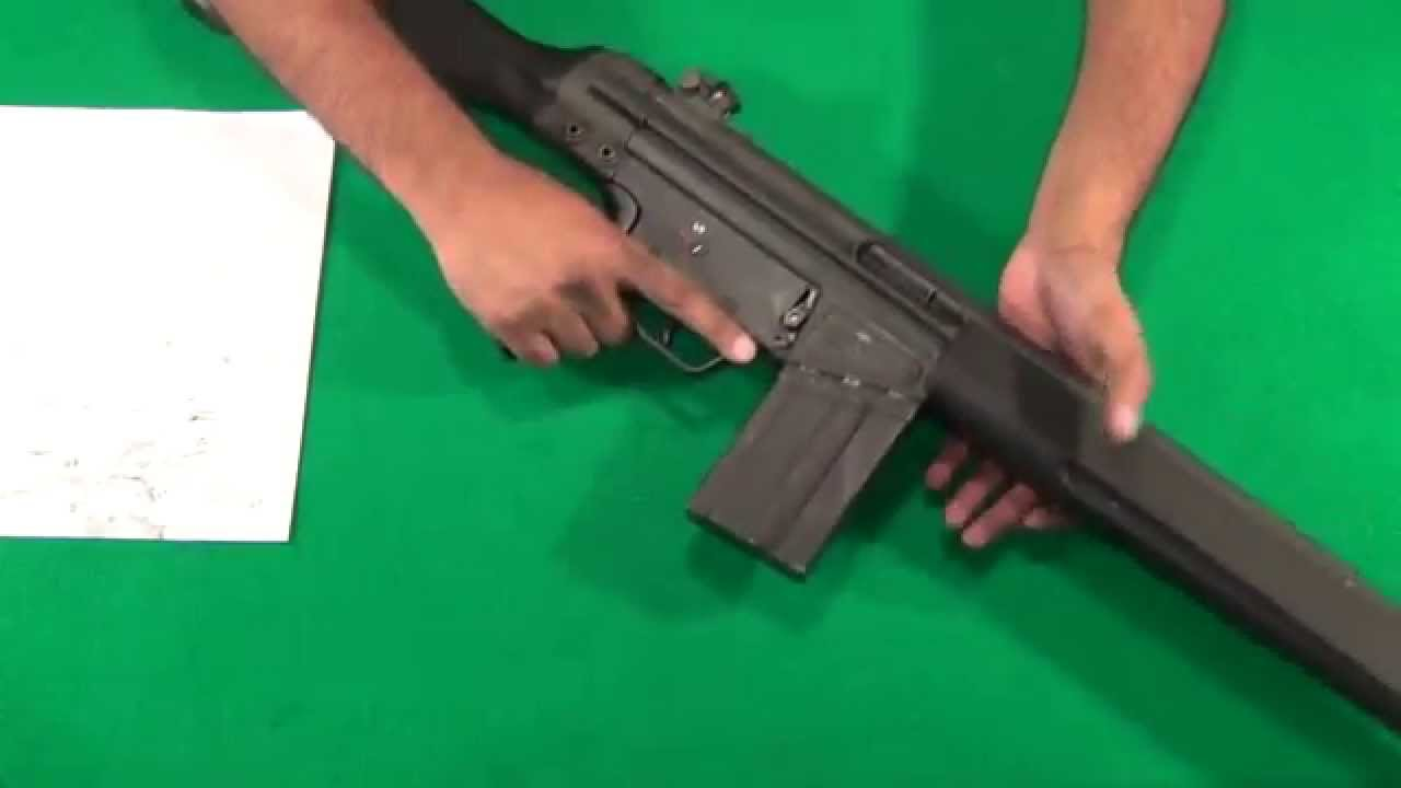 HK91/G3 (PTR91) Disembly & bolt group breakdown [the right way ...