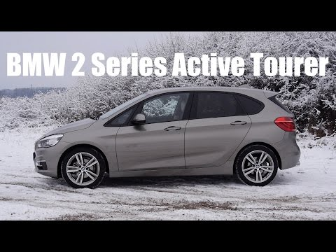 (ENG) BMW 2 Series Active Tourer - Test Drive and Review