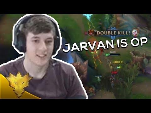 "TSM Svenskeren - ""JARVAN IS OP"" - League of Legends Stream Highlights"