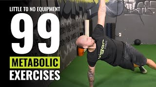 99 Metabolic Exercises With Little To No Equipment - Renton Fitness Gym