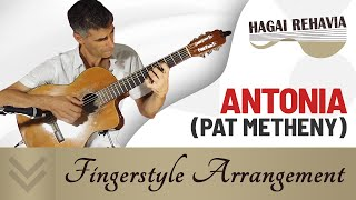 """Antonia""(Pat Metheny)- solo guitar arrangement by Hagai Rehavia"