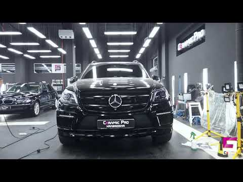 Mercedes GL 63. AMG. Тонирование фар. Стиль MB New