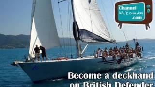 British Defender, sailing Whitsundays, Great Barrier Reef