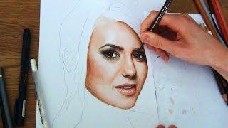 Drawing Nina Dobrev