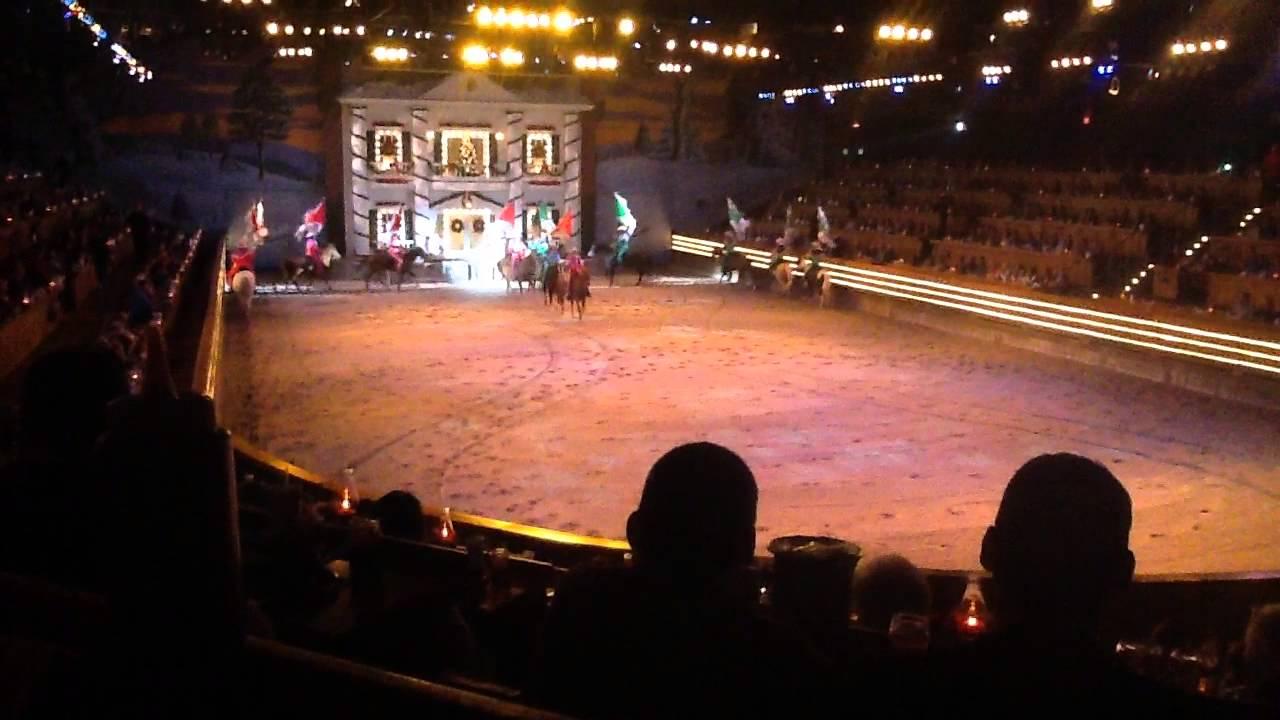 dixie stampede christmas show clip 1