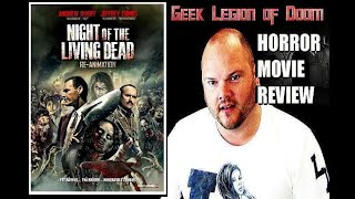 Night of the Living Dead 3D Re-Animation ( 2012 ) Horror Movie Review