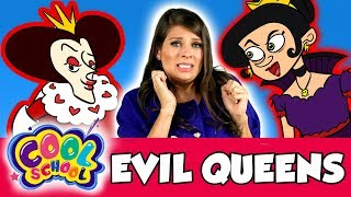 Ms. Booksy Meets Evil Queens! | Cool School Compilation