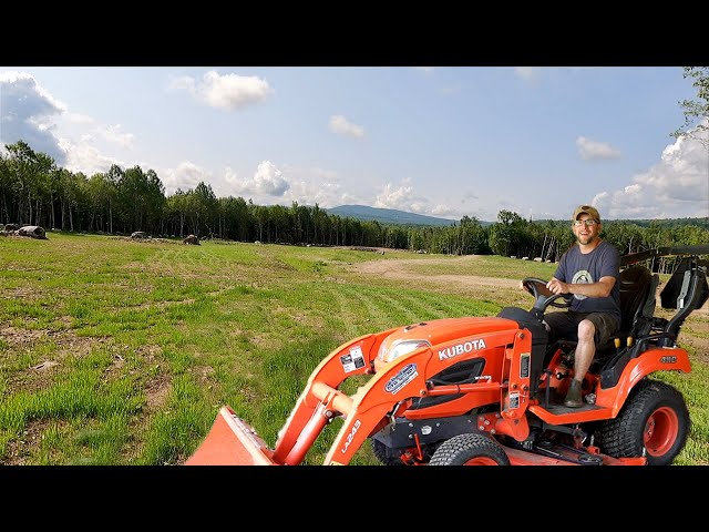 Mowing Our 500+ Acre OFF-GRID Property for the FIRST TIME | It DidN't Go as PLANNED!!!