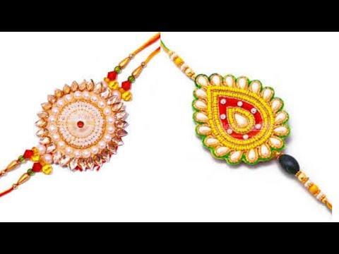 How to Make Easy Rakhi at Home? Rakhi paper Craft[NEW IDEAS]