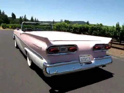 1958 Ford Fairlane Skyliner Convertible For