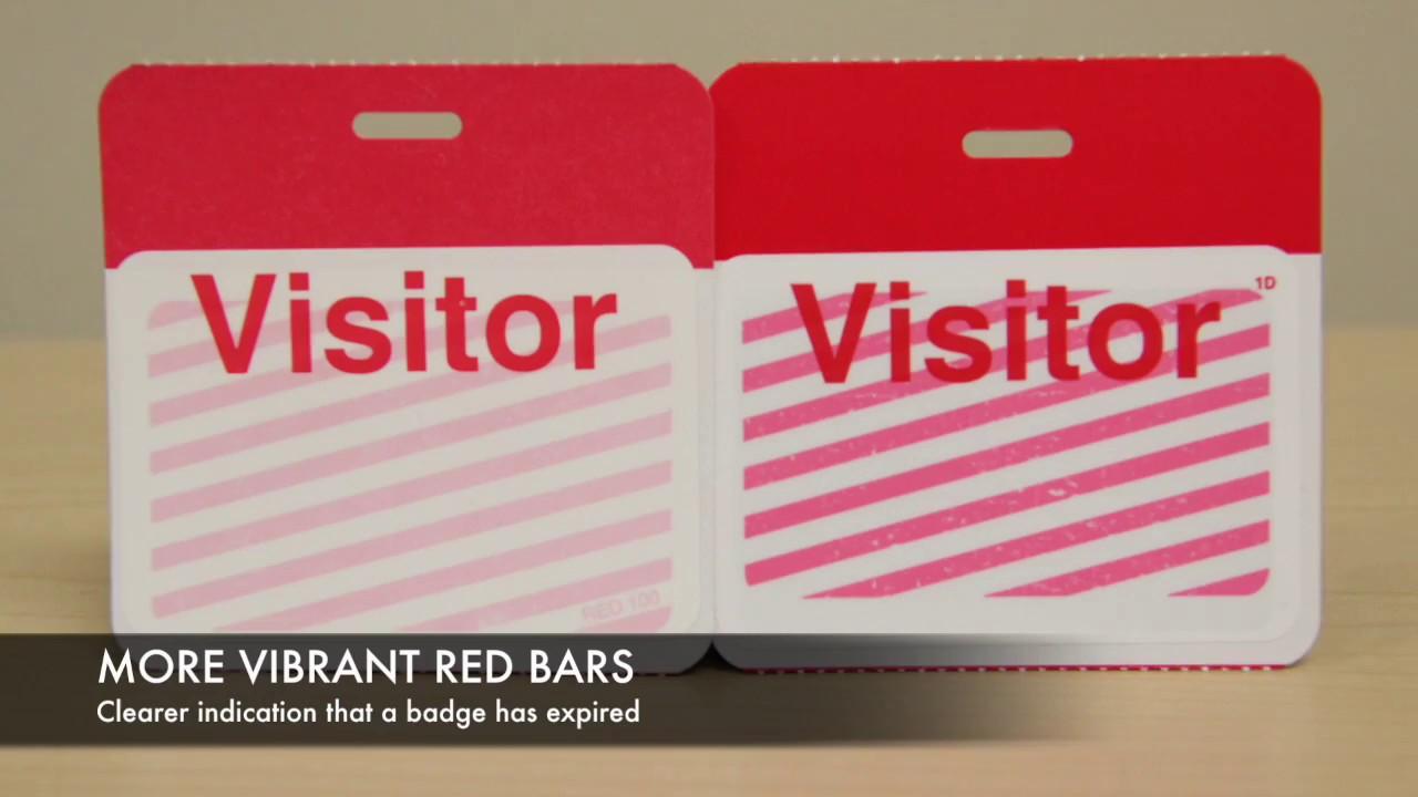 TEMPbadge® expiring visitor badges | IDenticard®
