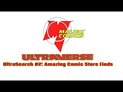 UltraSearch #2: Amazing Comic Store Finds