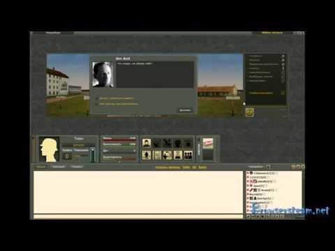 Видео обзор онлайн игры Передовая, браузерная  ролевая игра