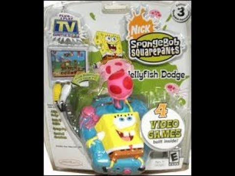 Plug N Play Games: Spongebob Squarepants Jellyfish Dodge