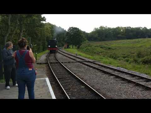 Steam rail isle of wight