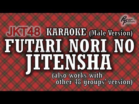 JKT48 - Futari Nori no Jitensha KARAOKE (Male Version)