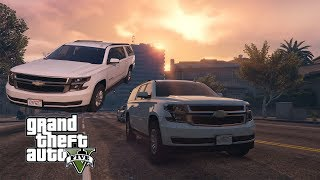 GTA 5 | 2016 Chevrolet Suburban Off Road and Test Drive SUV ✪ REDUX Ultra Graphics MOD PC.