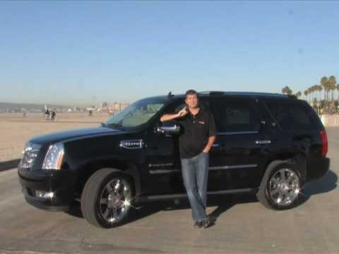 2009 cadillac escalade hybrid youtube. Black Bedroom Furniture Sets. Home Design Ideas