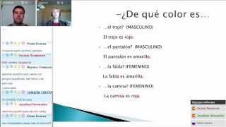 Согласование прилагательных и существительных в испанском языке (вебинар 02.05.2015)