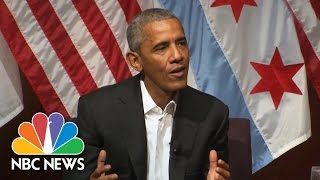 President Obama 'Incredibly Optimistic' If Next Generation Prioritizes Civic Engagement | NBC News
