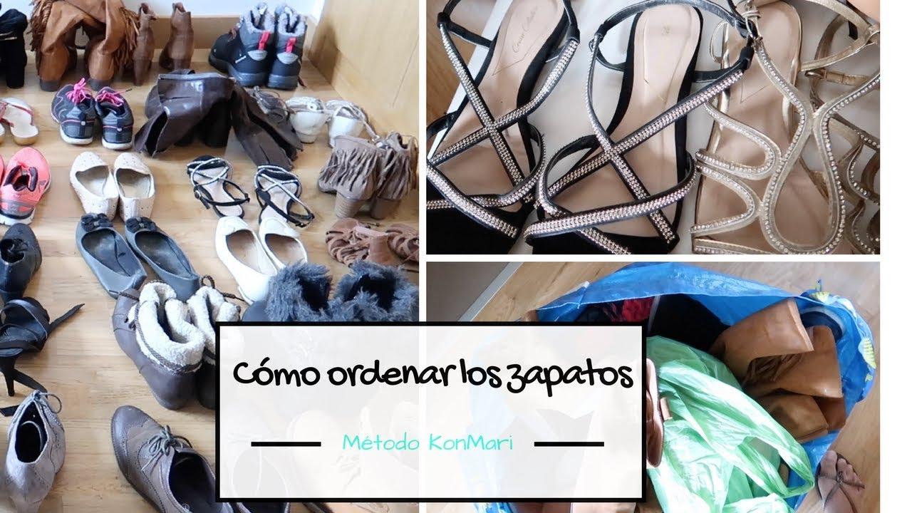 Como organizar los zapatos metodo konmari marie kondo for Ordenar libros konmari