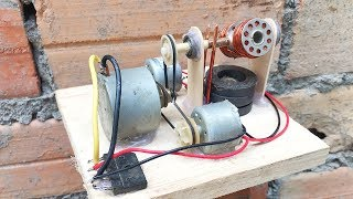 New 2019 For Free Energy Generator With DC Motor , Self Running Machine High Voltage System