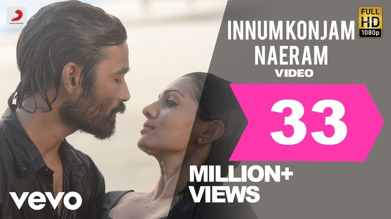 Download Maryan - Innum Konjam Naeram Video   A. R. Rahman   Dhanush   Super Hit Song