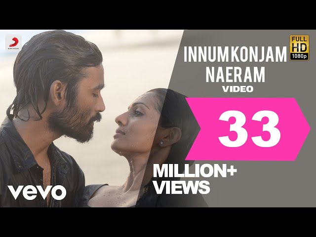 Maryan - Innum Konjam Naeram Video   A. R. Rahman   Dhanush   Super Hit Song