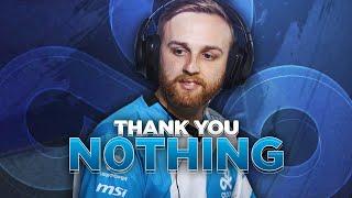 "Thank you: Jordan ""n0thing"" Gilbert"