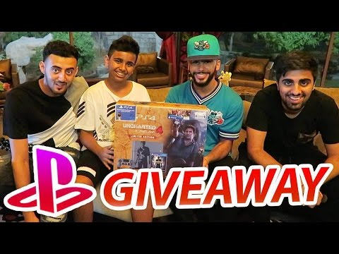 PLAYSTATION 4 GIVEAWAY w/ Adam Saleh, Mo Vlogs, & Slimmofication