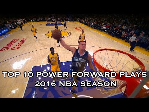 Top 10 Plays of the 2015-2016 Season: Power Forwards