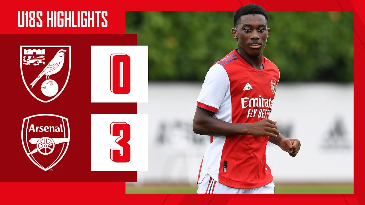 Download HIGHLIGHTS | Norwich vs Arsenal (0-3) | U18 | Edwards with a hat-trick!