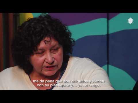 María, del merendero El Milagro del Monte en Quilmes. #tuvoztuvoto