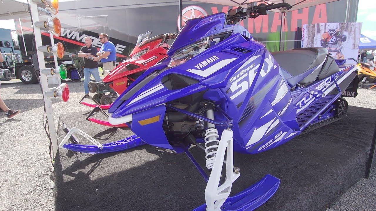 2019 Yamaha Sidewinder SRX Walk Around & First Impressions | Hay Days 2018