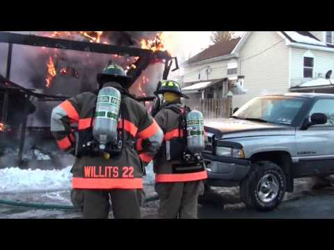 Locust Street Fire Jersey Shore Pa.