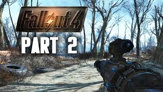 Fallout 4 Walkthrough Part 2 - EXPLORING (Fallout 4 Gameplay 60FPS PC)