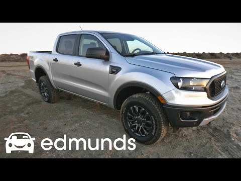 2019 Ford Ranger First Drive Review | Ford Finally Builds a Midsize Pickup | Edmunds