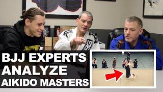 BJJ Experts Breakdown Videos of Aikido Masters • Moriteru Ueshiba, Gozo Shioda
