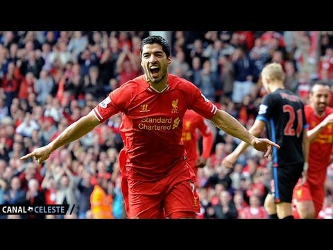 Gol Luis Suárez | Liverpool 3-1 Crystal Palace | 05/10/13