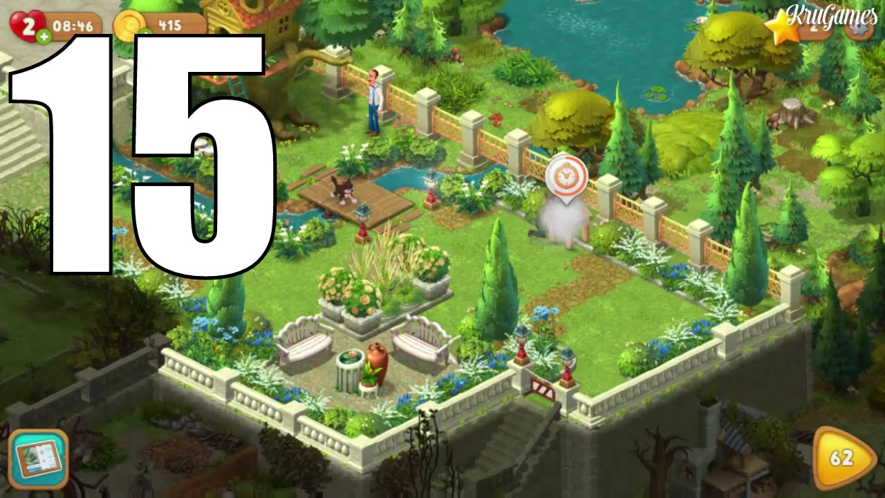 Gardenscapes New Acres Android Gameplay 15 Level 58 59 60 61 Youtube