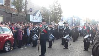 Newtownards Melody Flute Band @ Belfast Ulster Covenant Centenary Parade.