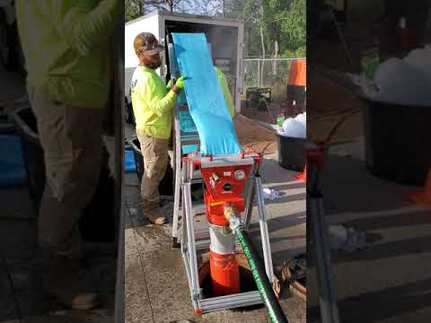 Quik-Shot is on a ROLL!  Manhole Rehab