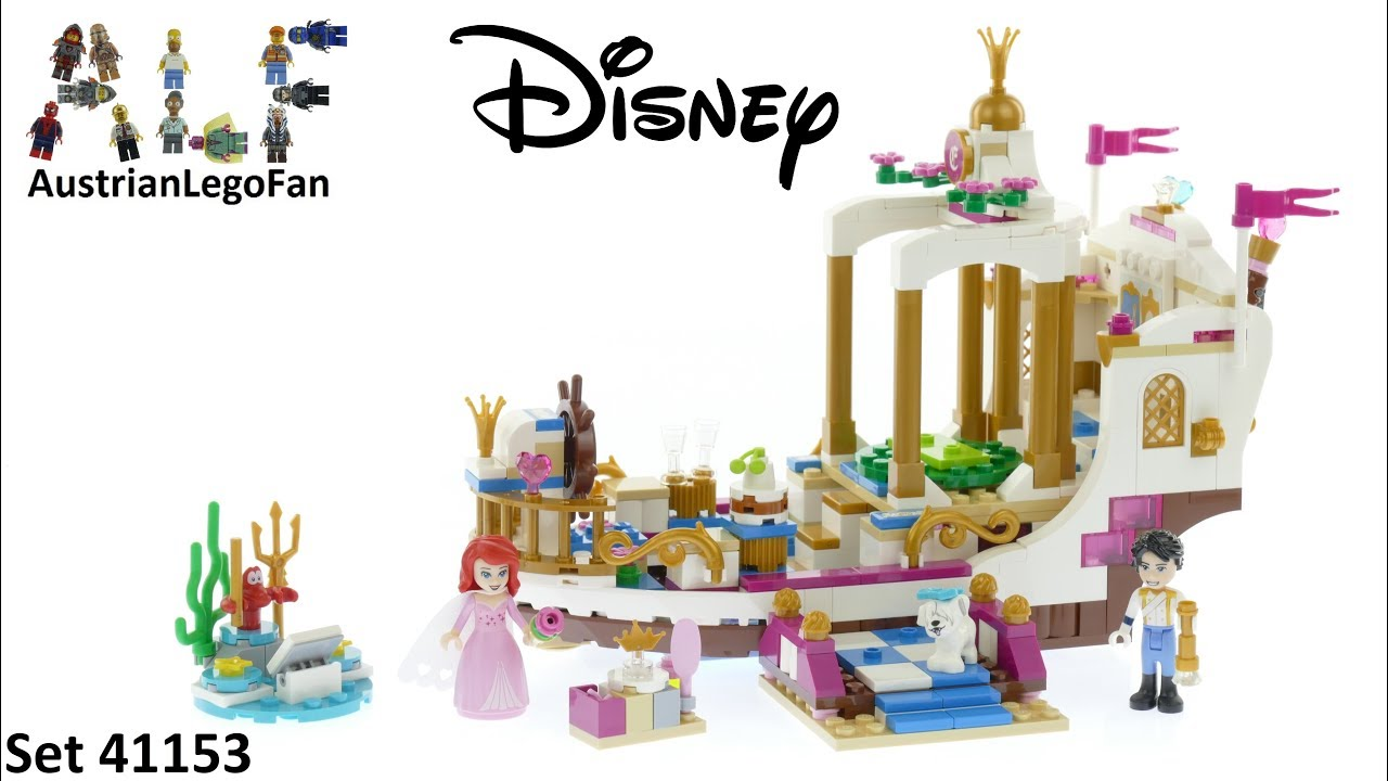 LEGO Disney Princess Ariel/'s Royal Boat 41153