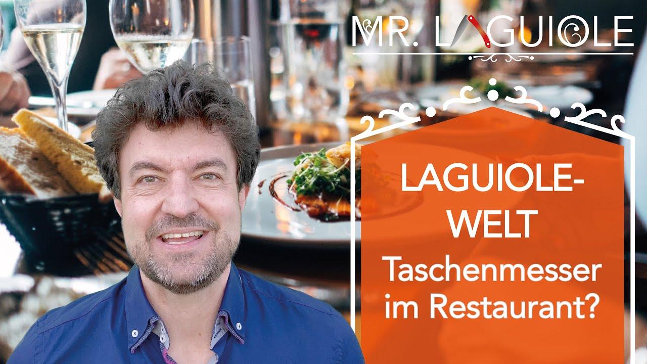 Laguiole im Restaurant? Mit welchem Laguiole-Taschenmesser sollte man ein Steak im Restaurant essen!