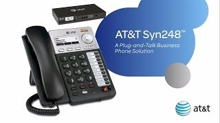 AT&T Syn248® Business Phone System - Product Overview