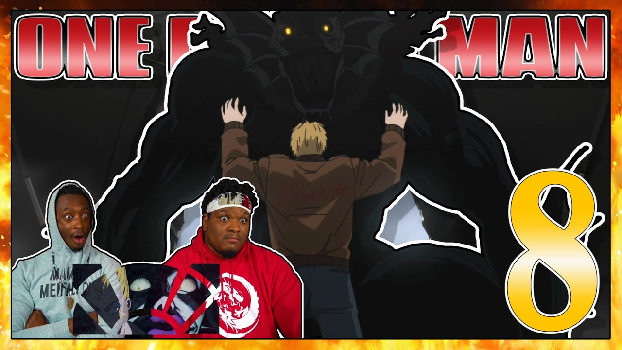 THE SEA KING HAS ARRIVED!! One Punch Man: Season 1 - Episode 08 | Reaction