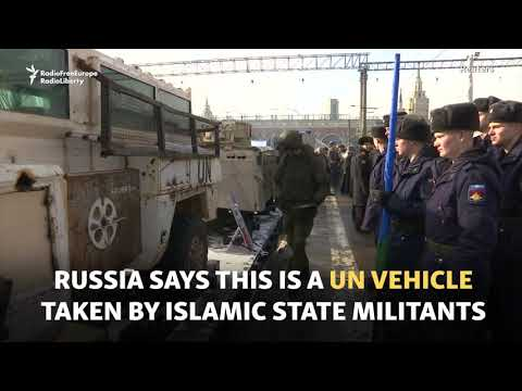 Russia's Syrian War Trophies On Tour
